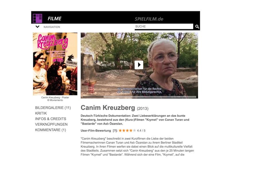 Spielfilm.de - Kritik & Bewertung